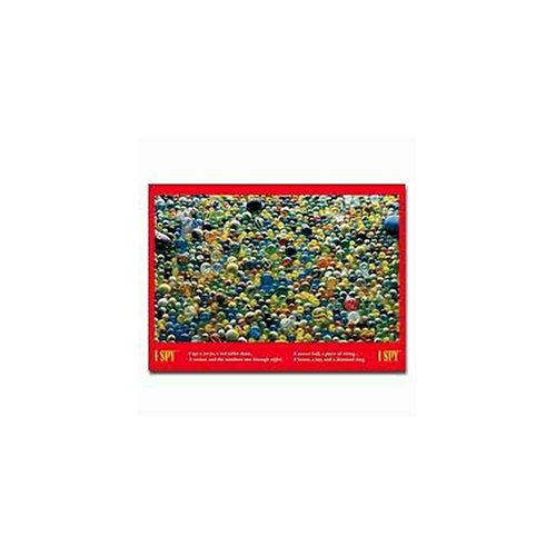 - I Spy Marbles 500-Piece Puzzle