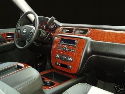 Amazon Com Chevrolet Chevy Avalanche Interior Burl Wood