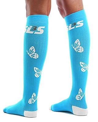 Women`s Comfy Compression Socks (20-30mmHg), Includes Happy Leg Guarantee