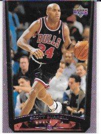 Scott Burrell 1998-99 Upper Deck Chicago Bulls Card #269