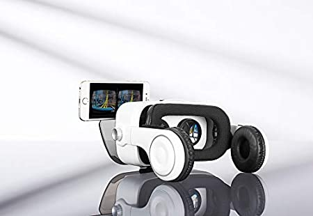 Sharper Image Bluetooth VR Headset with Earphones