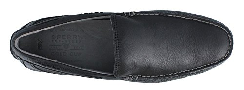 Top-sider Coupe Dor Kennebunk En Cuir Noir / Noir Sperry