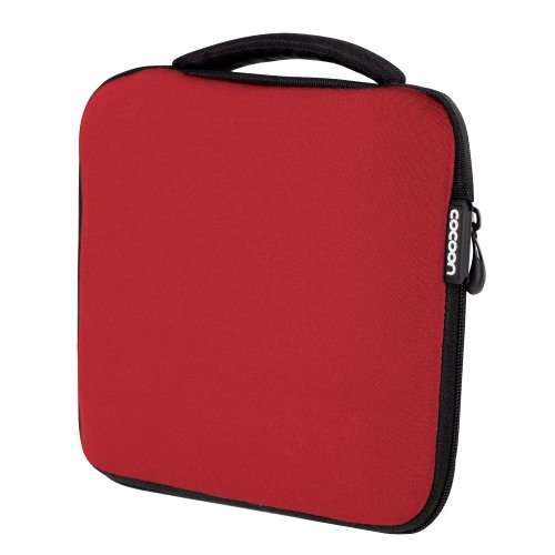 Cocoon CSG310RD Neoprene Gadget Case includes GRID-IT!® Accessory Organizer (Racing Red) ()