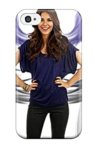 Hot Snap-on Victoria Justice Hard Cover Case/ Protective Case For Iphone 4/4s
