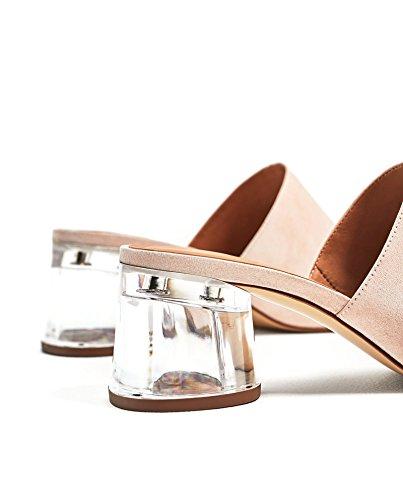 Zara Donna Mule tacco metacrilato 7200/201