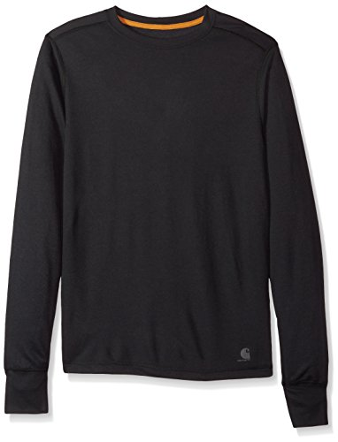 Carhartt Men's Base Force Extremes Cold Weather Crewneck Sweatshirt, Black, Small ()