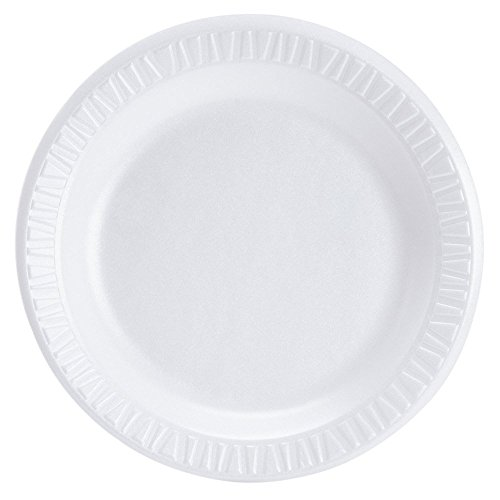 (Dart 7PWC, 7-Inch Concorde White Non-Laminated Foam Plate, Take Out Catering Disposable Plates (100))