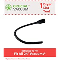 Think Crucial 24-Inch Flexible Crevice Tool Designed To Fit Vacuum Cleaners w/ 32 mm openings