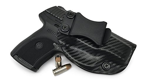 Us Mail Express (Concealment Express IWB KYDEX Holster: fits Ruger LC9 LC9s LC380 EC9s - Custom Fit - US Made - Inside Waistband - Adj. Cant/Retention (CF BLK, Right))