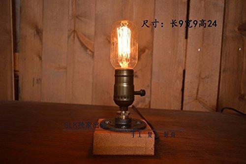 Pinwei loft di idee per la decorazione di industriale lampada