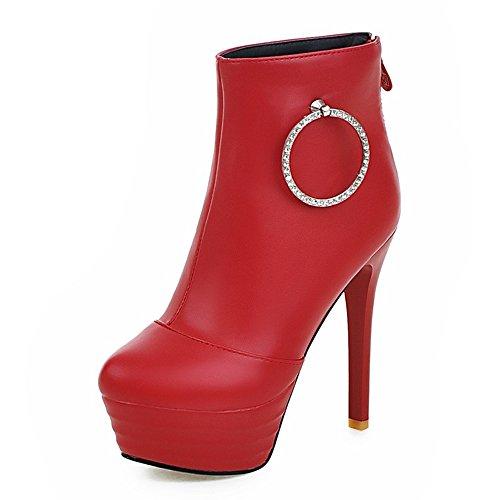 Fashion Heel - Botas mujer Red