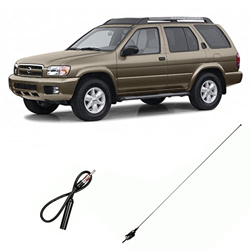 Pathfinder Nissan Antenna (Fits Nissan Pathfinder 1996-2002 Factory Replacement Radio Stereo Custom Antenna)