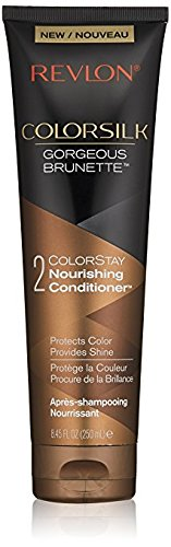 Revlon Colorsilk Colorstay Nourishing Conditioner, Gorgeous Brunette, 8.45 fl oz (Pack of ()