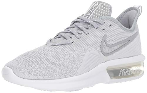 6b51ef2f918 SHOPUS | Nike Women's Air Max Sequent 4 Running Shoe White/Wolf ...