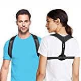 Back Brace Posture Corrector for Women and Men by Astin - Pain Relief Support for Muscle Spine Shoulder And Neck - Straightener for Kyphosis Hump Slouch Scoliosis and Clavicle- Easy Adjustable