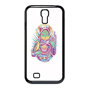 The miracle of Saint Kitty Samsung Galaxy S4 9500 Cell Phone Case Black BI9264320