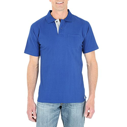 Wrangler Men's Knit Polo Shirt (Small)
