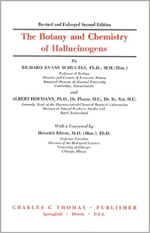 The Botany and Chemistry of Hallucinogens: Richard Evans
