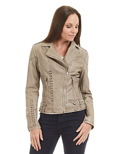 Come-Together-California-CTC-Womens-Faux-Leather-Eyelet-Open-Moto-Jacket