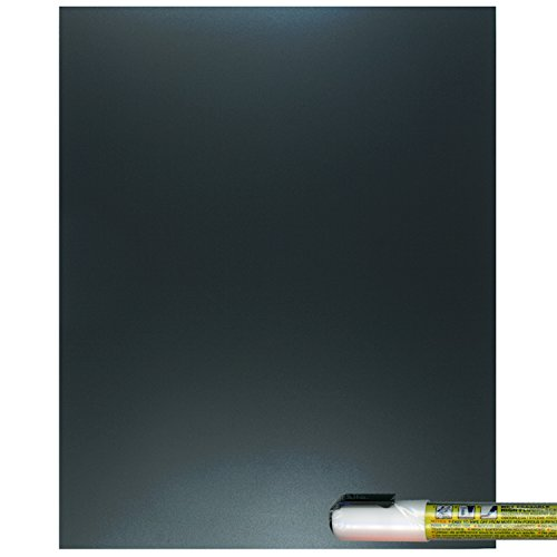 (Cohas Eco Chalkboard Includes 1 Unframed Blackboard and Liquid Chalk Marker, 8 x 10 Inches Each, White Marker)