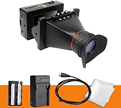 GOWE - Visor electrónico para cámara réflex digital (3,5
