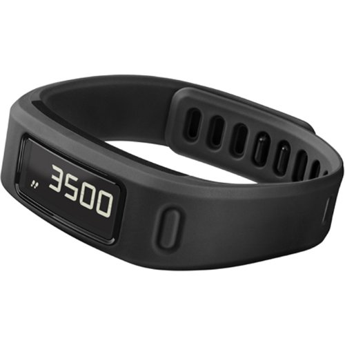 Garmin Vivofit Fitness Band   Black  Certified Refurbished  W O Ant Stick