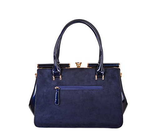 Splendeur d'Art®, Borsa a mano donna Blu Royal blu royal