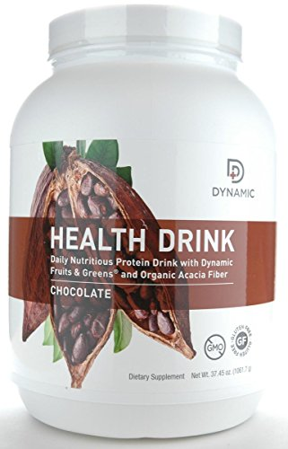 Dynamic Health Drink 900 Grams, by Nutri-Dyn (Chocolate)