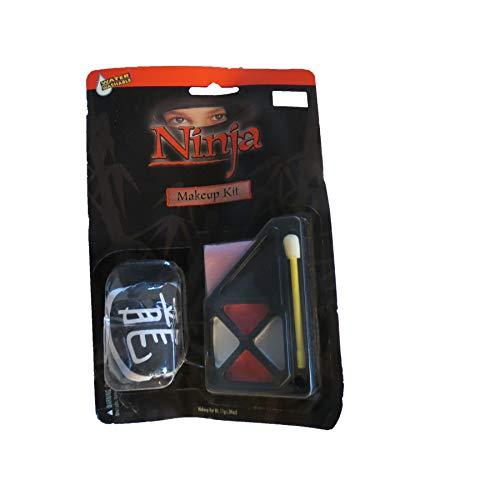 target Ninja Halloween Makeup -