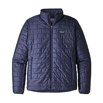 Patagonia Men's Nano Puff Jacket (Small, Classic Navy)