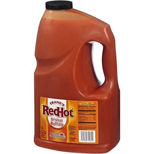 - Frank's RedHot Original Buffalo Wings Sauce, 1 gal