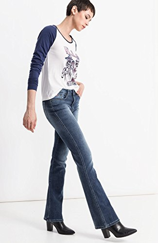 Blue 9383 Wash Blau Donna Sunny 9383 Bootcut Premium Medium HIS Jeans Bx8pvqwxz