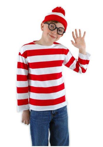elope Where's Waldo Kid's Large/X-Large Costume -