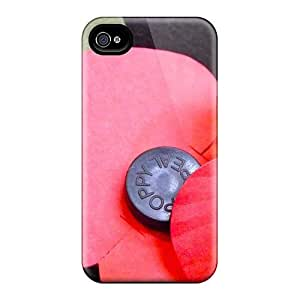 Hot Fashion NXw618HaMS Design Case Cover For Iphone 4/4s Protective Case (lest We Forget)