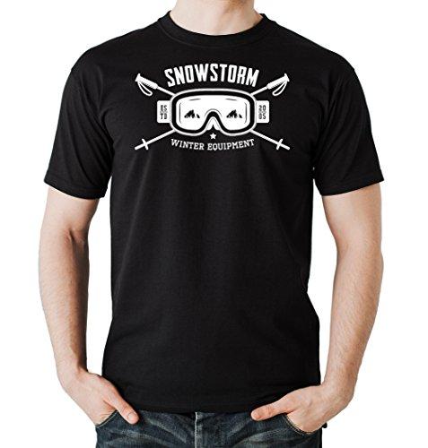Snowstorm T-Shirt Black Certified Freak