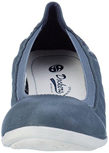 34fu201 Ballerine 620600 Dockers Gerli Blau Blu Donna by qwFn4WZS