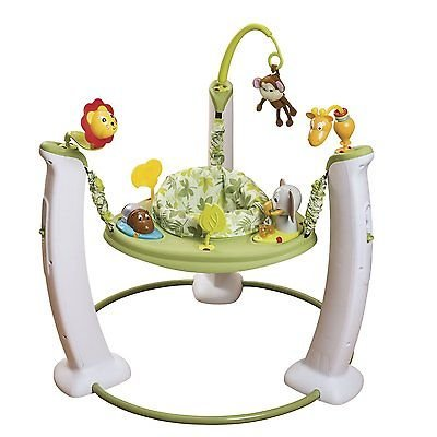 NEW Evenflo ExerSaucer Jump and Learn Jumper Wild Life Baby Jumperoo Bouncer from Does not apply