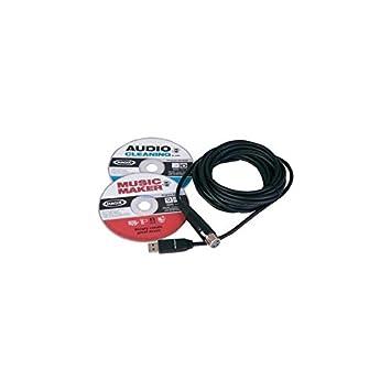 Dj Tech - Xlr / Usb Cable Los 5M + Tarjeta de Sonido Xlr2Usb ...