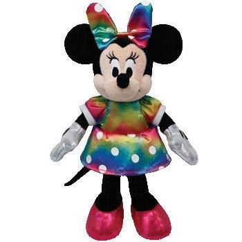 Amazon.com  Ty Beanie Babies Disney Minnie Mouse Tie Dye Plush - 6 ... a5a18f25869