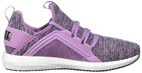 Puma Womens Mega Nrgy Knit Wn Sneaker Fumé Uva-puma Nero