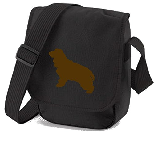 Dog of Cocker Cocker Colours Spaniel Cocker Shoulder Bag Silhouette Reporter Bag Brown Spaniel Gift Bag Black Dog Bag Choice 4OxwqHaYO