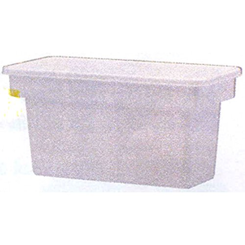 United Solutions IC0010 White Plastic Ice Cube Bin-Ice Cube/Frozen Food Bin in White