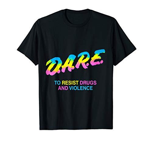DARE 90s drugs tshirt shirt -
