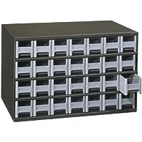 Akro-Mils 19228 28 Drawer Steel Parts Storage Hardware...