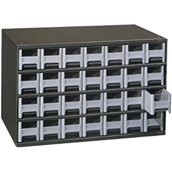 Akro-Mils 19228 28 Drawer Steel Parts Storage Hardware and Craft Cabinet Grey Drawers  sc 1 st  Amazon.com & Amazon.com: Akro-Mils 19228 28 Drawer Steel Parts Storage Hardware ...