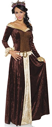 Underwraps Women's My Lady, Brown/Tan, X-Small -
