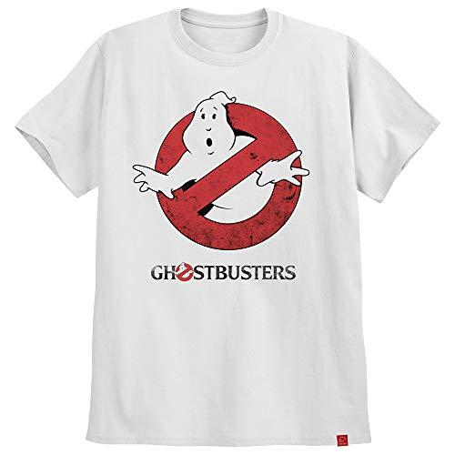 Camiseta Ghostbusters Caça Fantasmas Camisas Retro Geek M