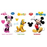 Mickey Minnie and Pluto Wall Decal