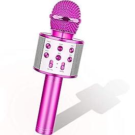 Bluetooth Karaoke Mikrofon – Geschenke für Jungen und Mädchen