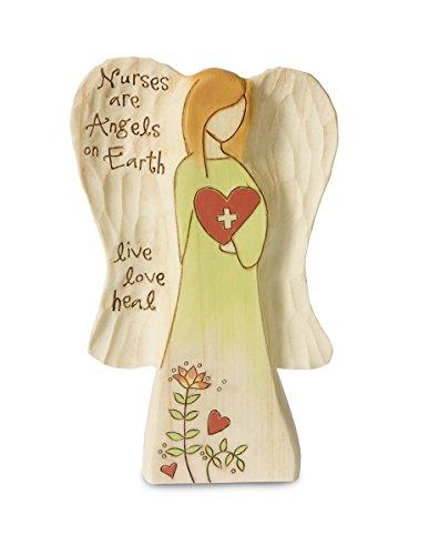 "Pavilion Gift Company 78011 Nurse Angel Figurine, 5"""